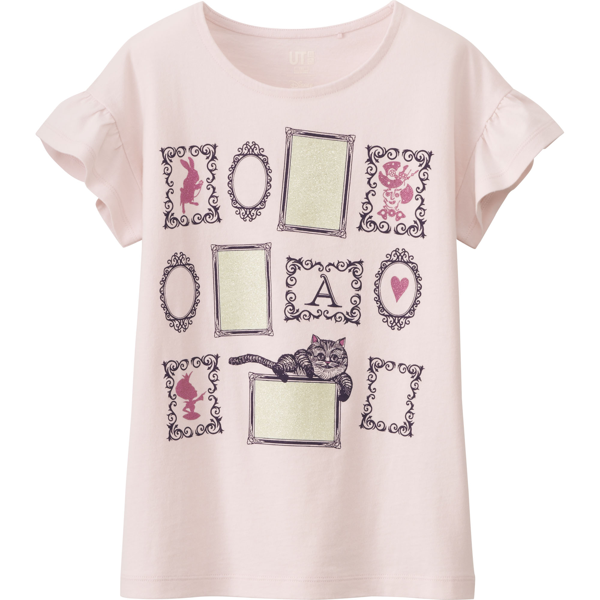 Girls' Alice In Wonderland Graphic T-shirt