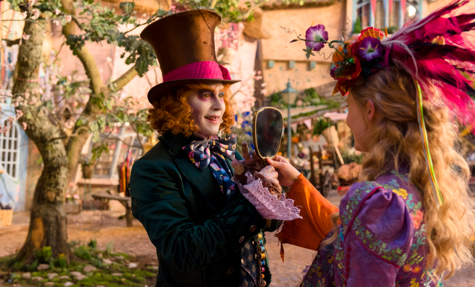 Alice Through The Looking Glass Trailer Hatter