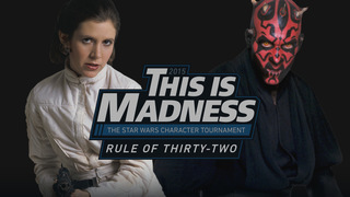 The is Madness: The Star Wars Character Tournament is on!