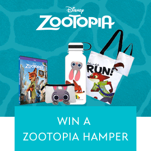 Zootopia Hamper Contest Mini Hero - SG wide