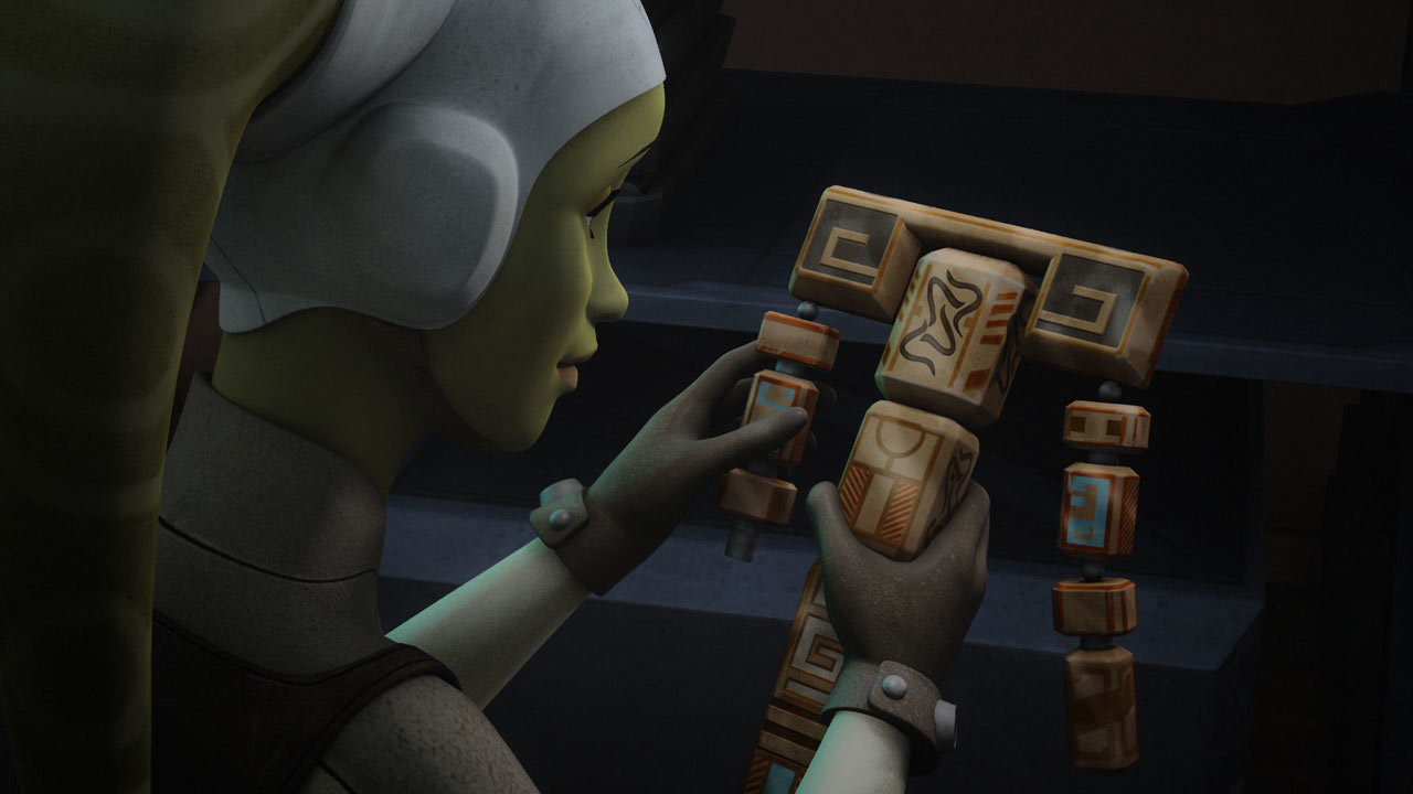 Hera Syndulla takes a look at her family's Kalikori