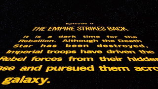 Star Wars: Episode V The Empire Strikes Back - Opening Crawl