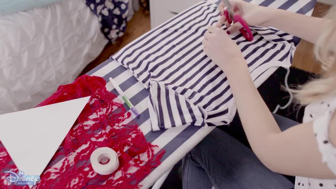 The Style Edit - Ella's DIY T-shirts