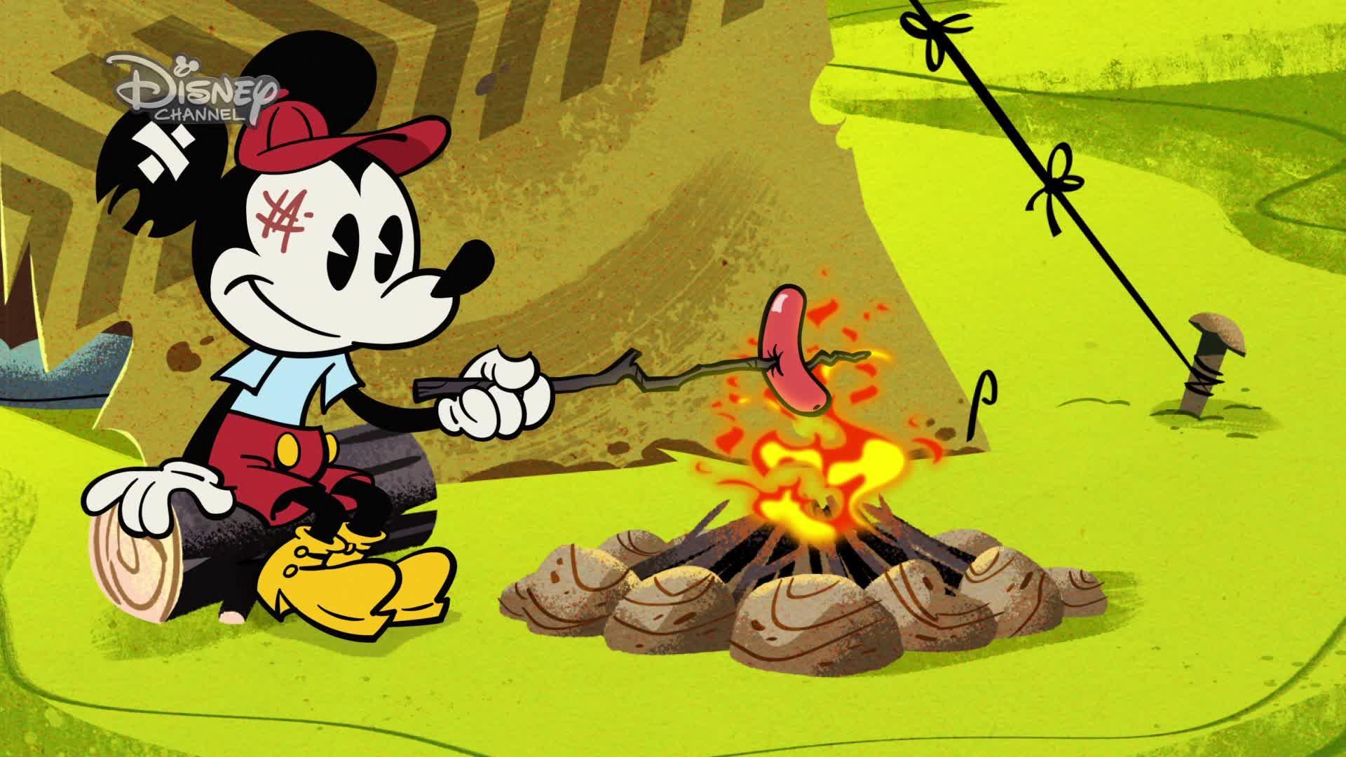 Miki w szortach - Na łonie natury