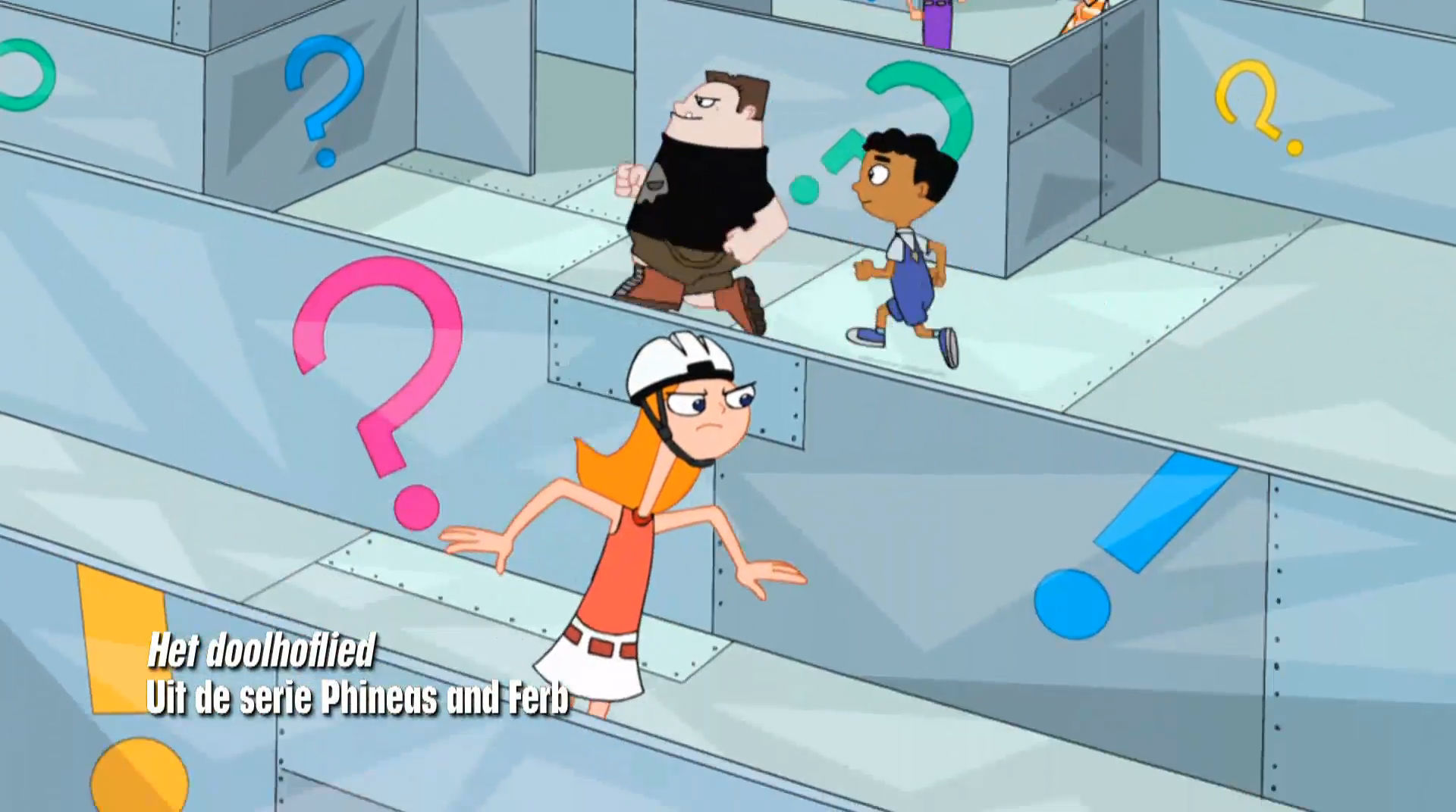 Phineas and Ferb - Het Doolhoflied