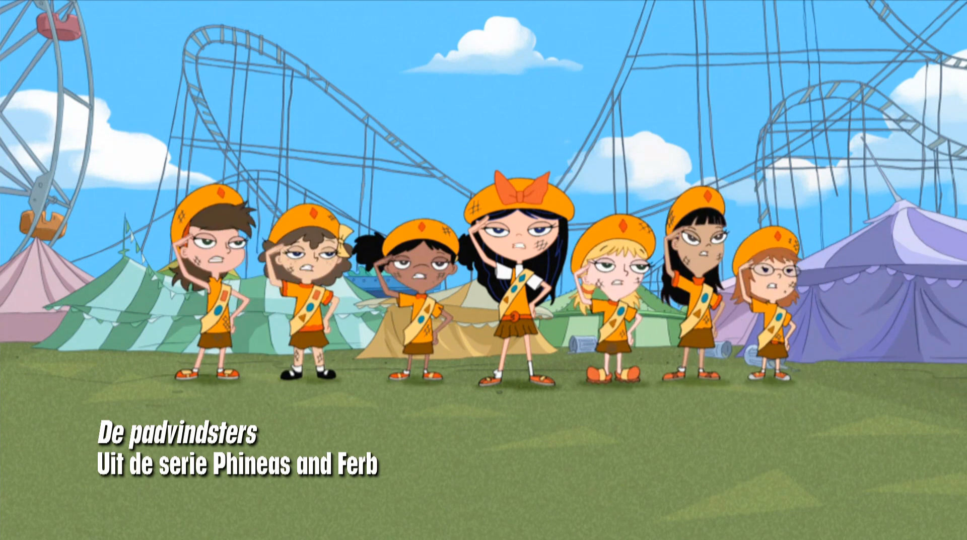 Phineas and Ferb - De padvindsters
