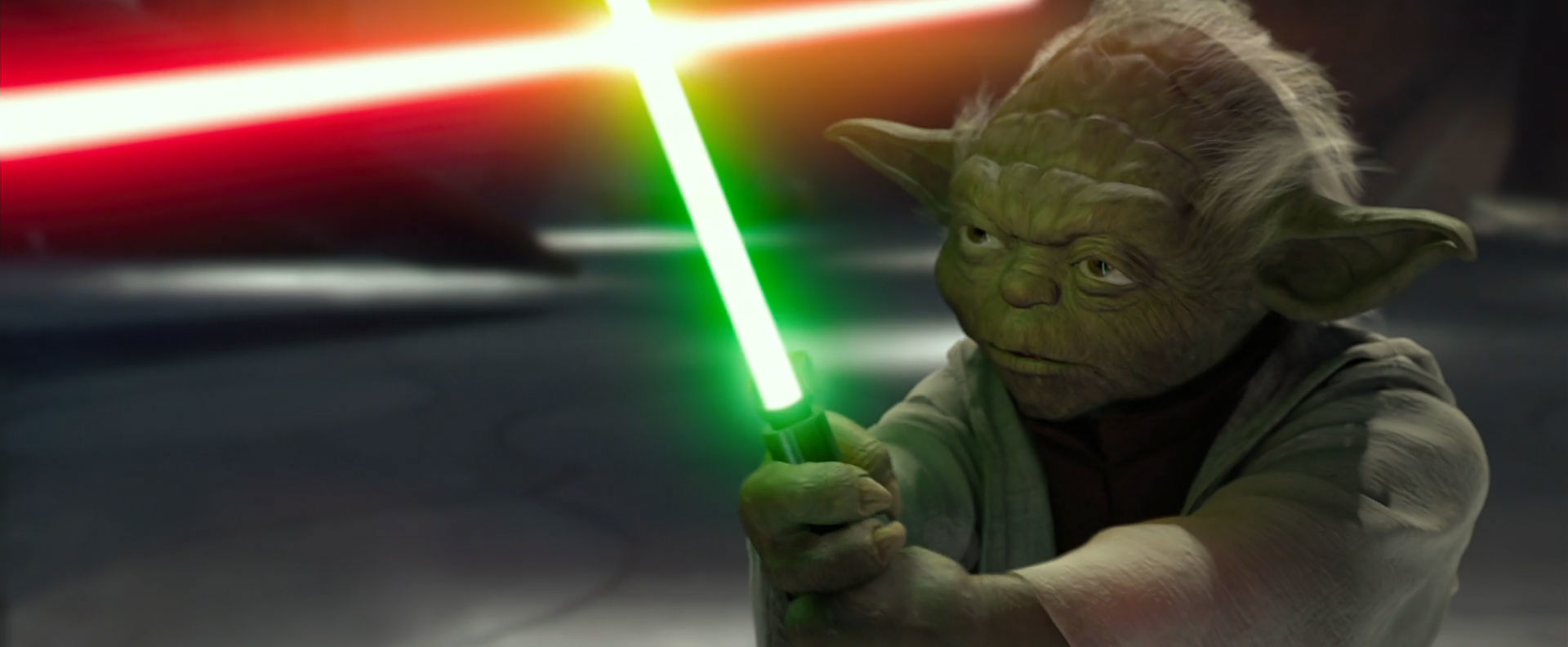 Yoda εναντίον Count Dooku