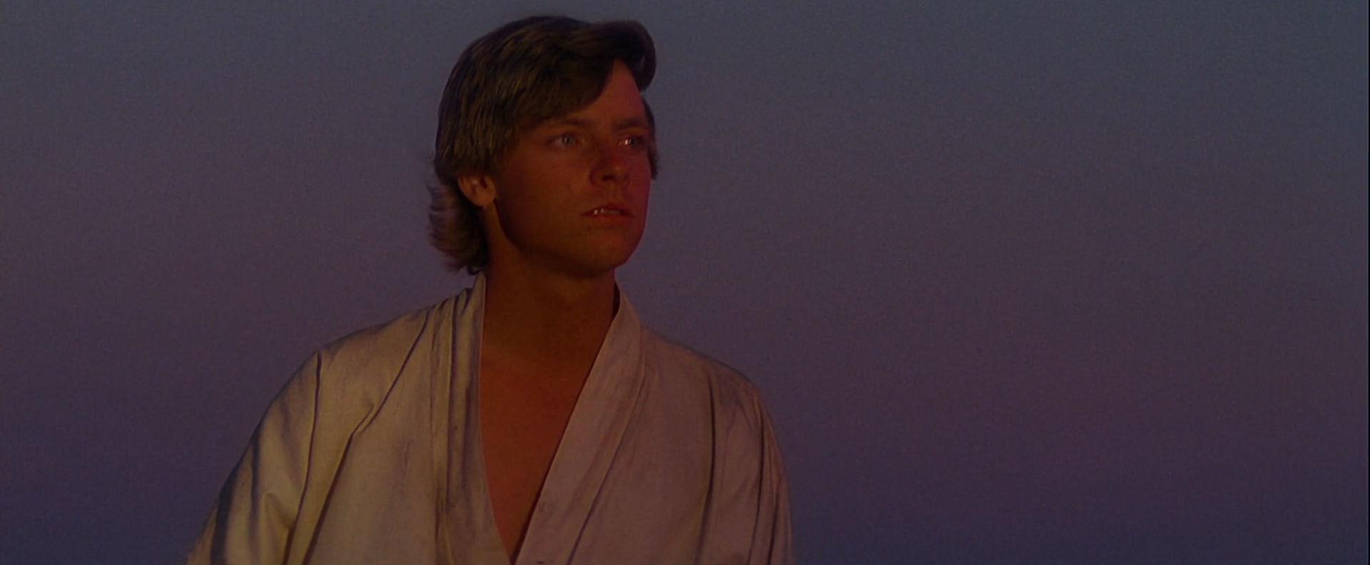 Luke Watching the Sunset