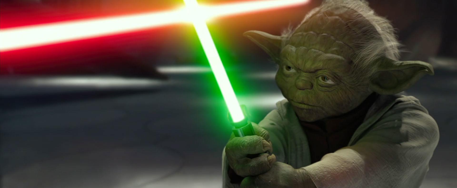 Yoda Vs Count Dooku