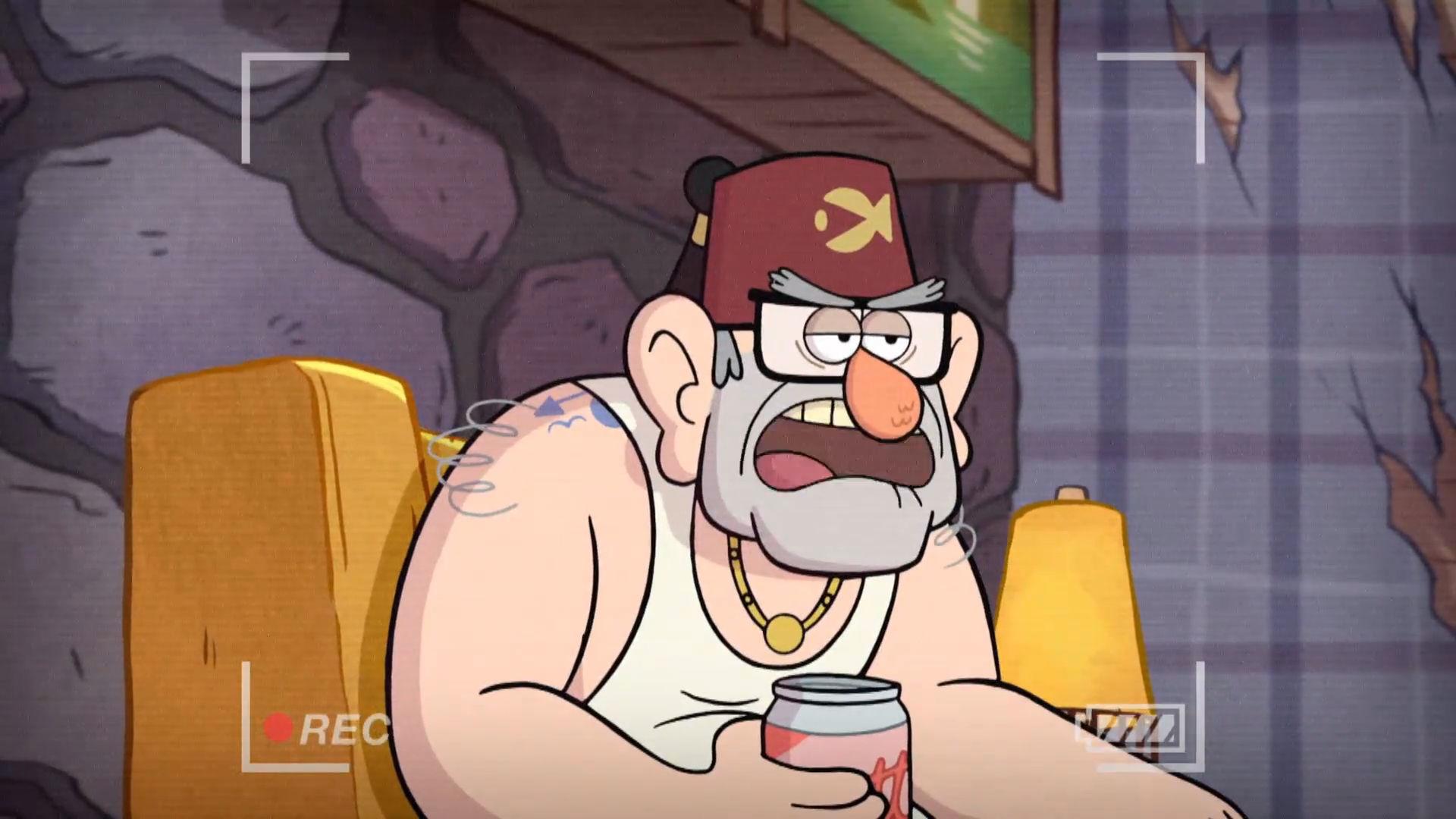 Gravity Falls - Oom Stan's geheime tattoo