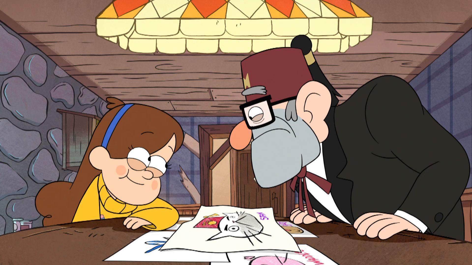 Gravity Falls - Mabel's Kunst cursus