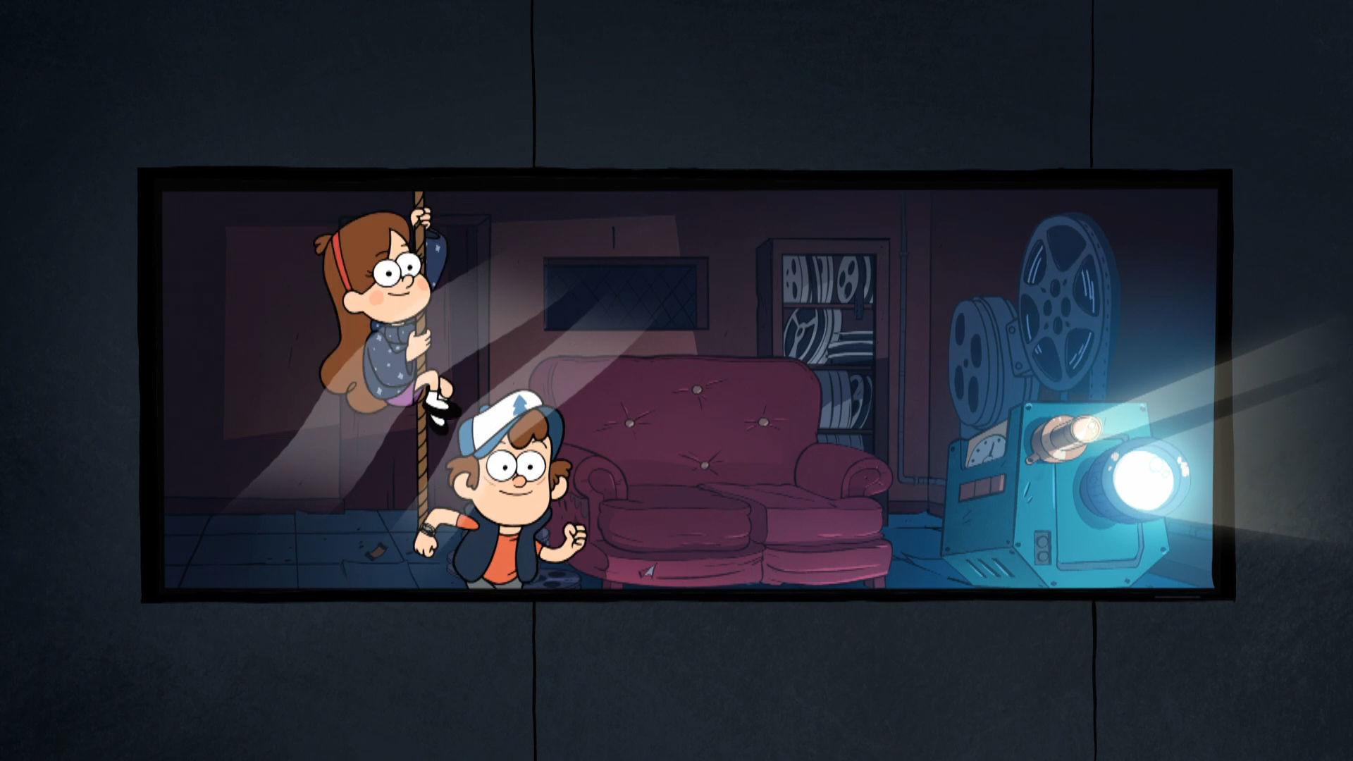Gravity Falls - Naar de Bioscoop