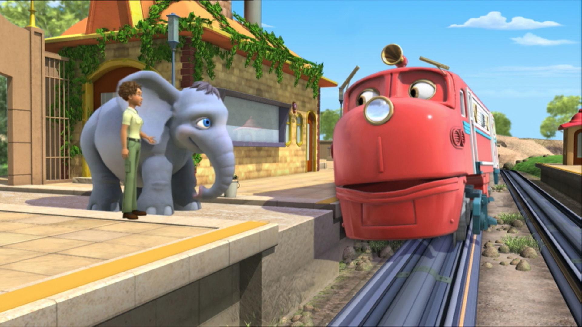 Wilson and the Elephant / Koko and the Tunnel