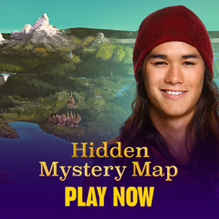 Hidden Mystery Map
