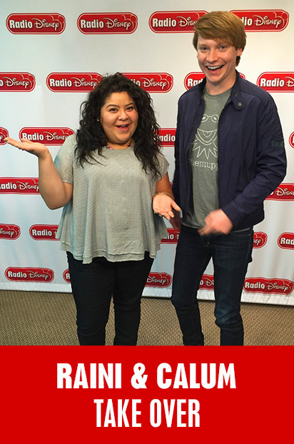 Raini and Calum Take Over