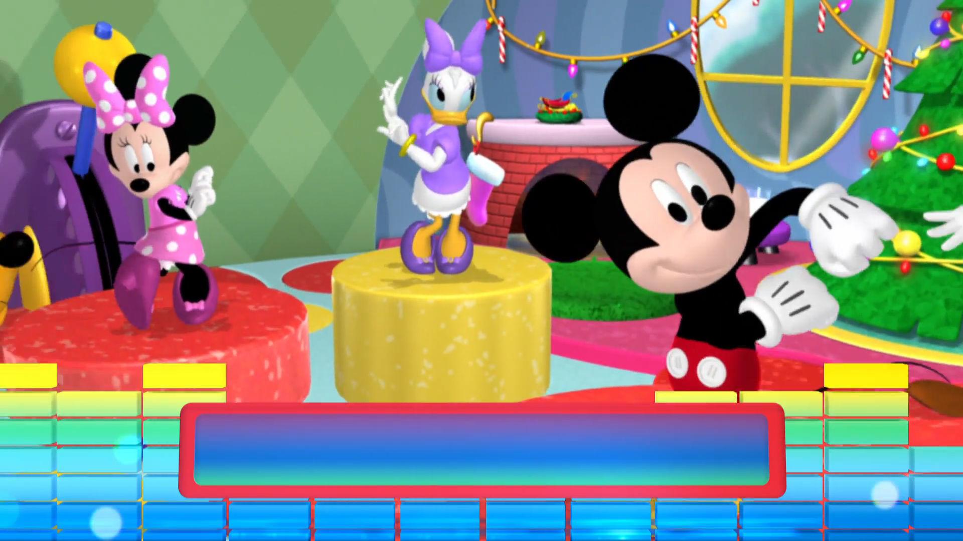 La Mickey-danza navideña