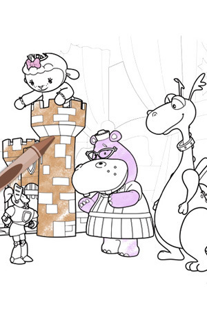 Doc and Sir Kirby