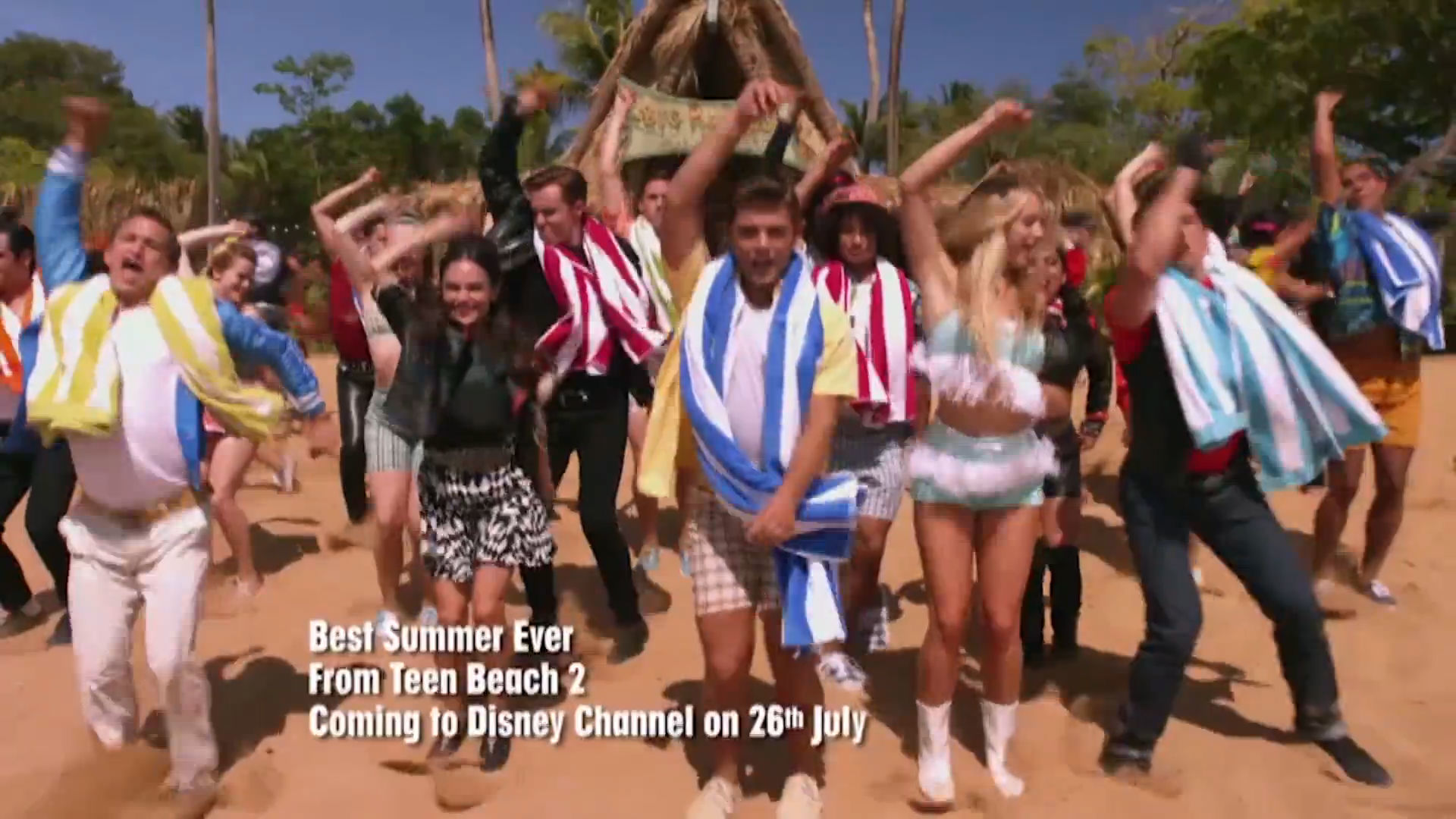 "Teen Beach 2 | ""Best Summer Ever"" Music Video 