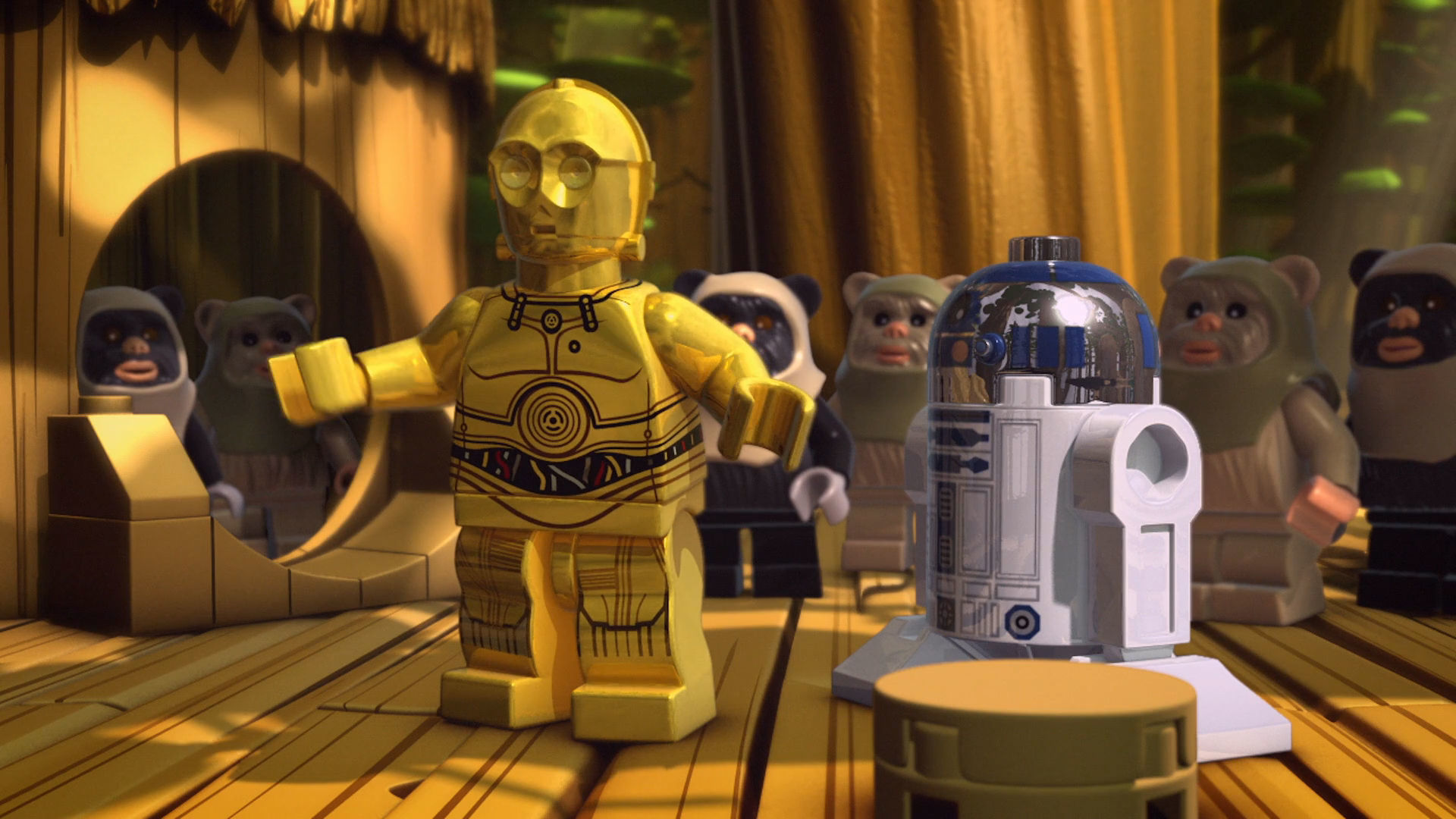 Star Wars: Droid Tales Exit from Endor Trailer