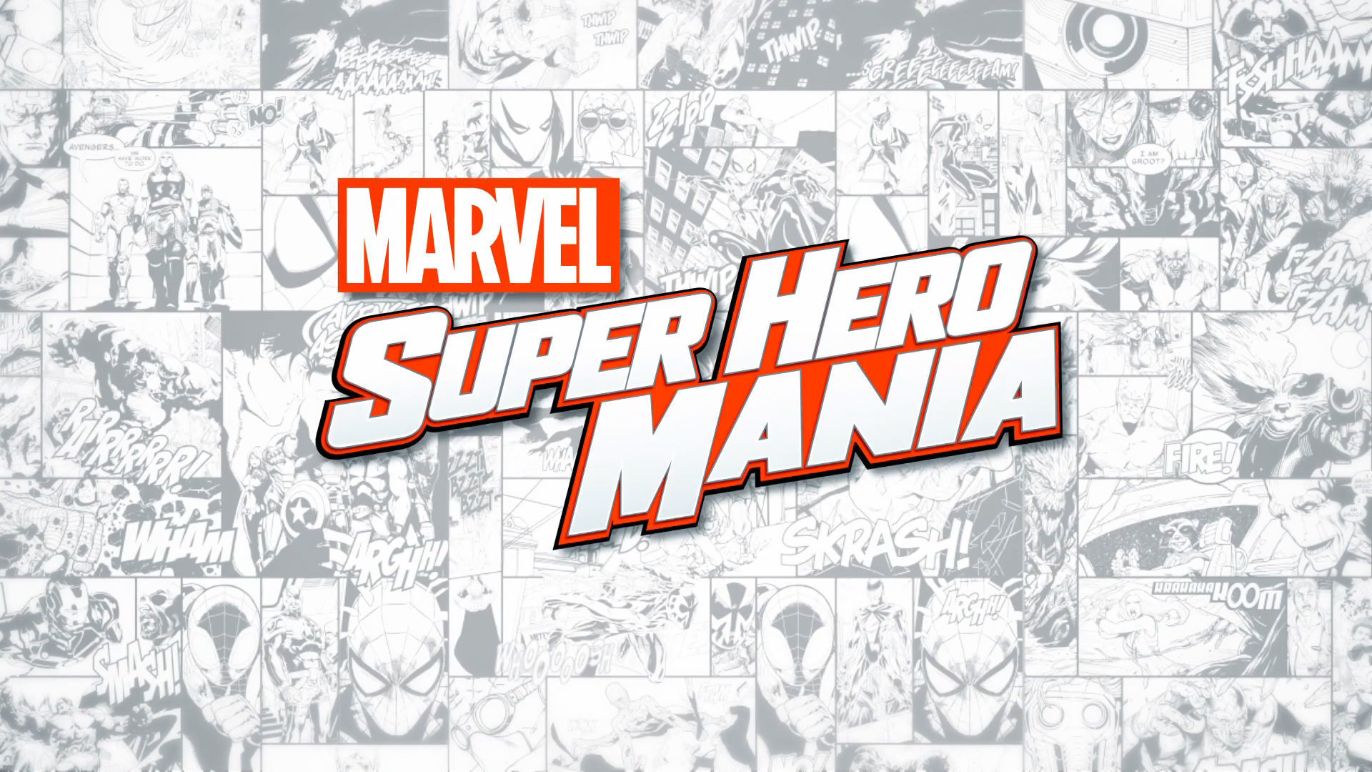 Marvel Super Hero Mania Trailer