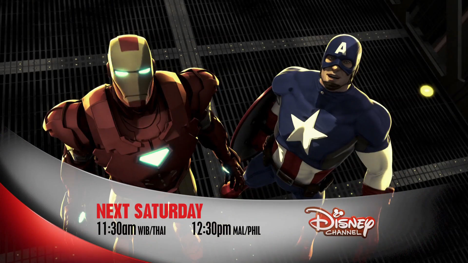 Marvel Super Hero Mania - Iron Man & Captain America