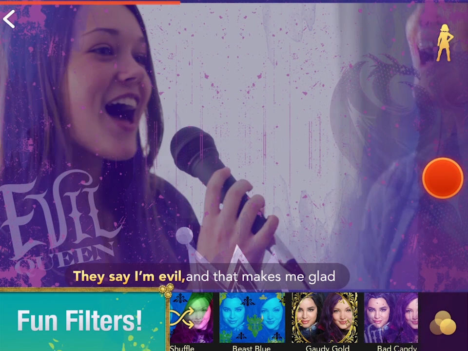 Descendants Karaoke - App Preview