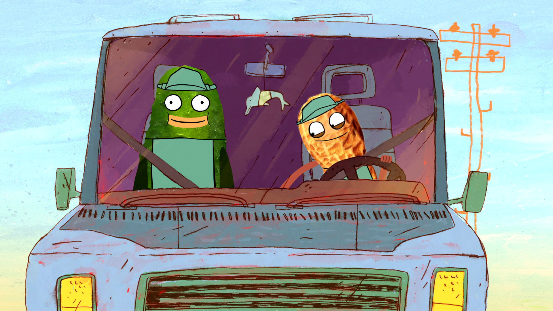 Pickle and Peanut Premieres Monday, September 7 at 9P on Disney XD