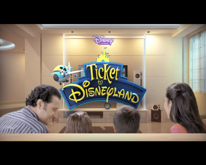 Ticket to Disneyland