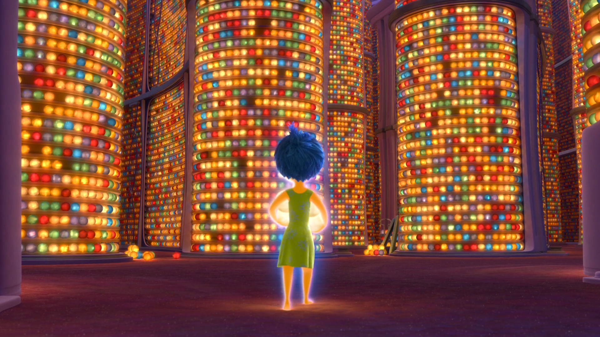 Del Revés (Inside out) - Memoria a largo plazo