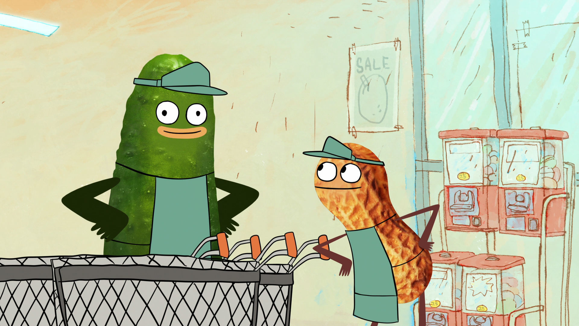 Pickle and Peanut Premieres Monday, September 7 at 9P on Disney XD.