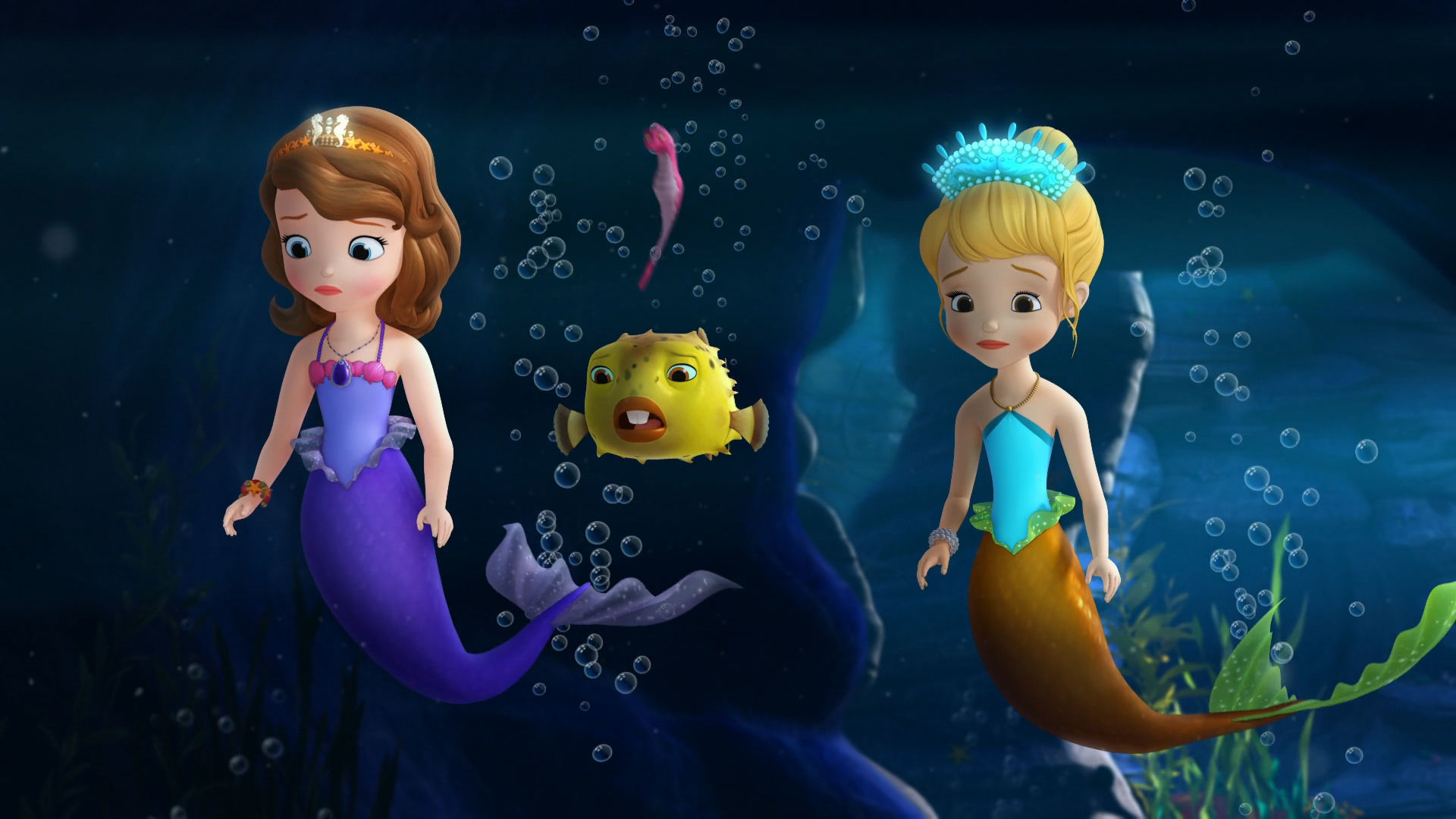 Clover time sofia the first the floating palace disney junior