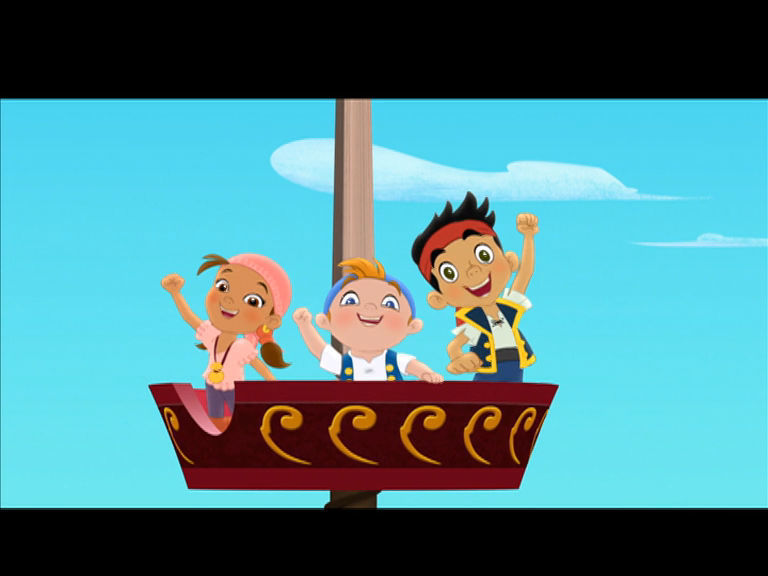 Jake and the Neverland Pirates - Yo Ho! Let's Go!