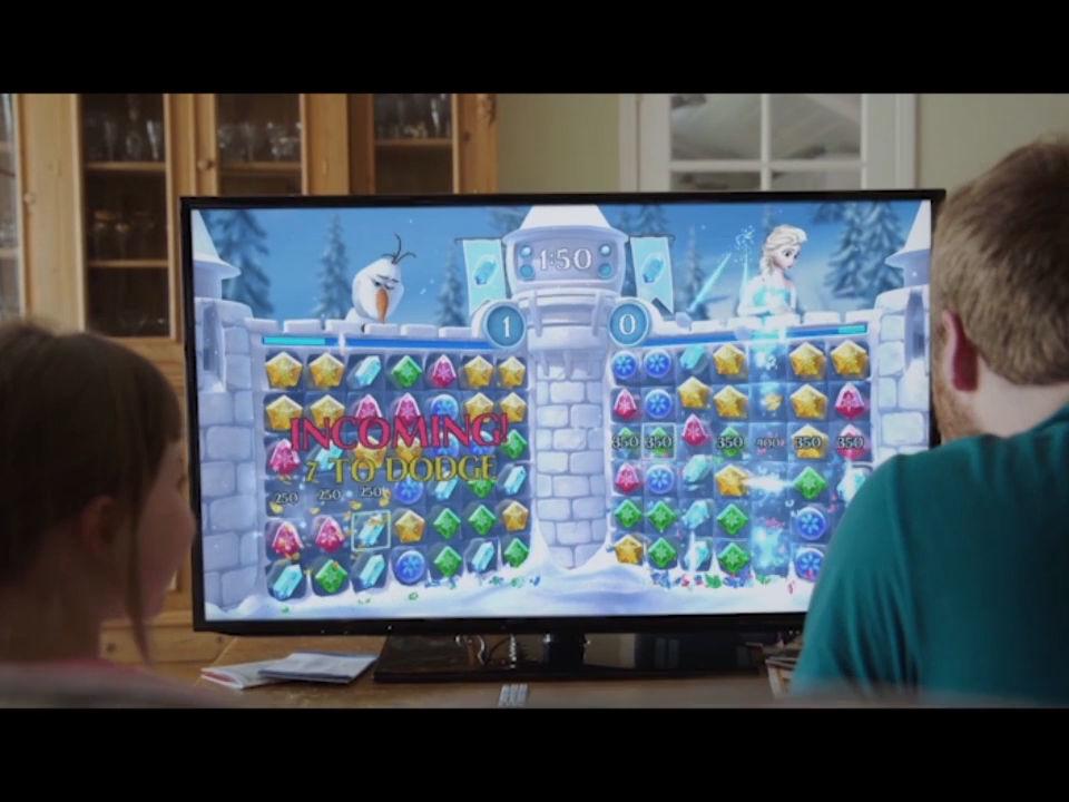 Frozen Free Fall: Snowball Fight Trailer