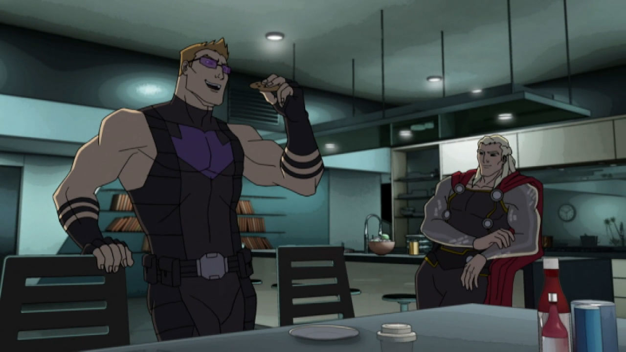 Marvel's Avengers Assemble  - Milk and Cookies