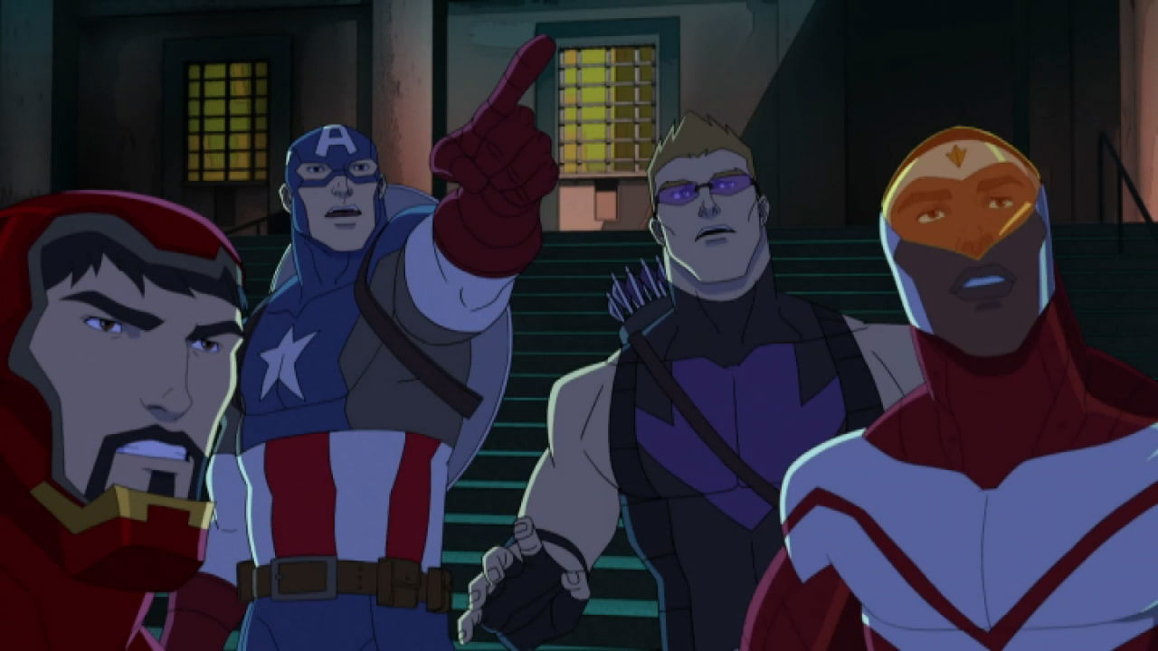 Marvel's Avengers Assemble  - Avengers Vs Guardians