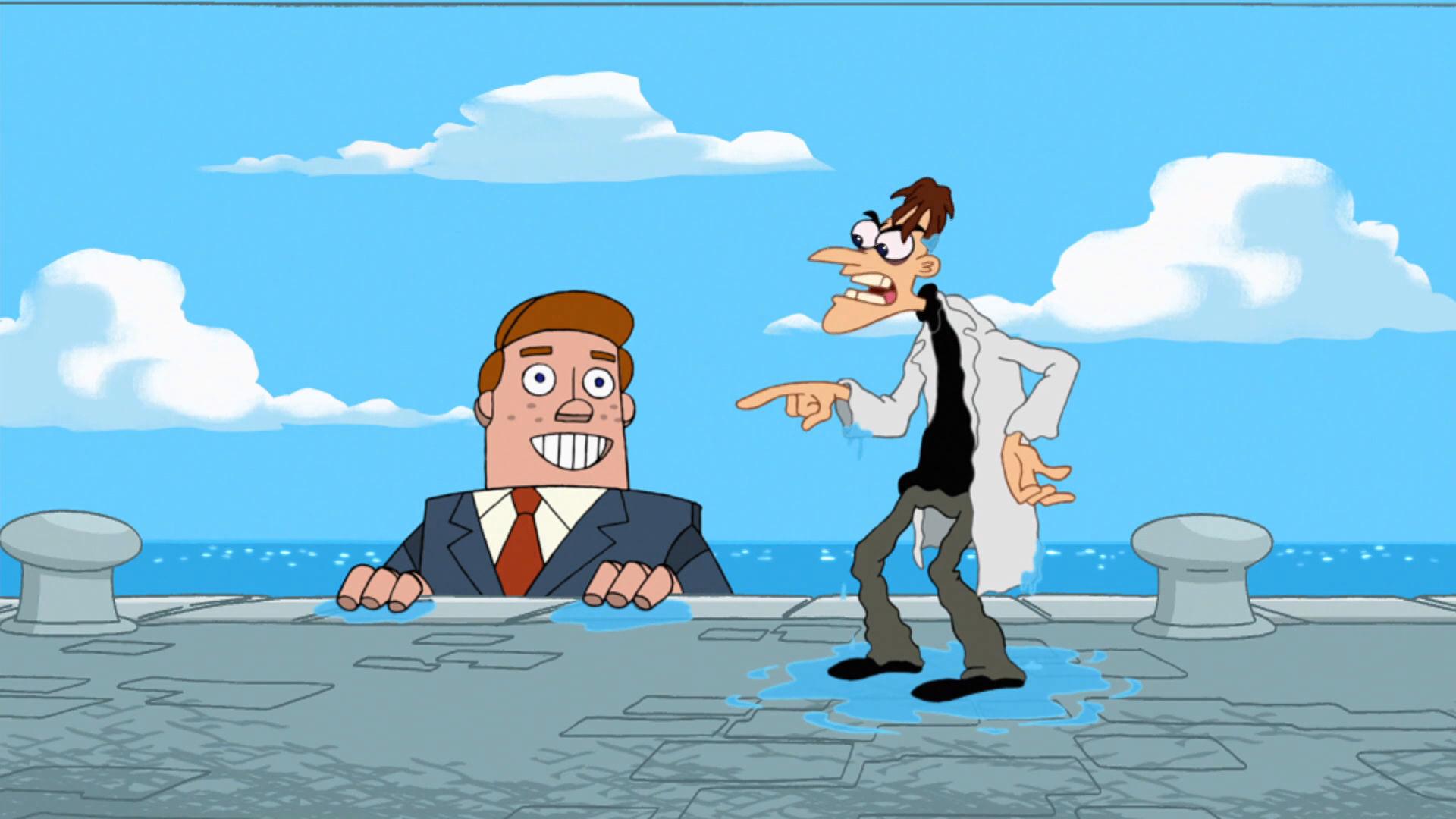 Phineas og Ferb - Gemmeleg