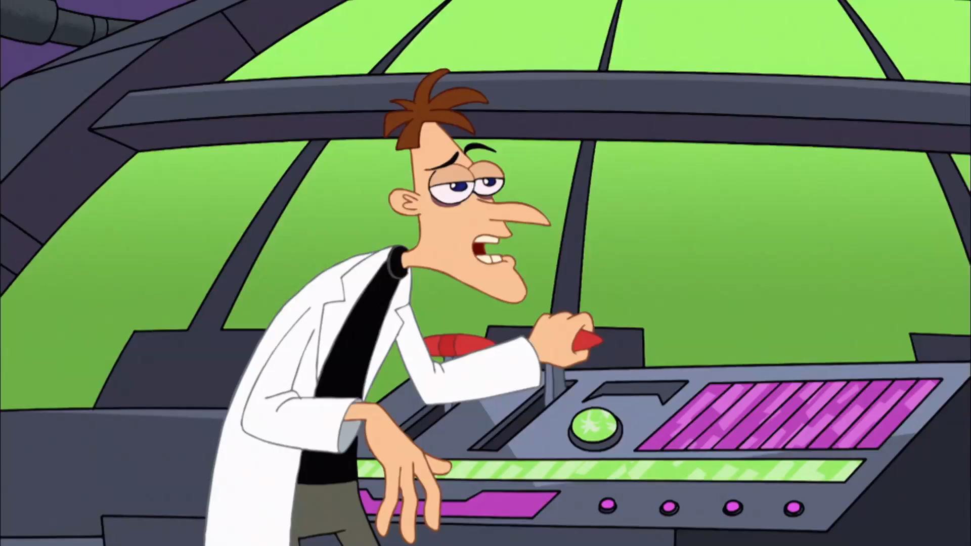 Phineas och Ferb - Doofenshmirtz fångar Agent P