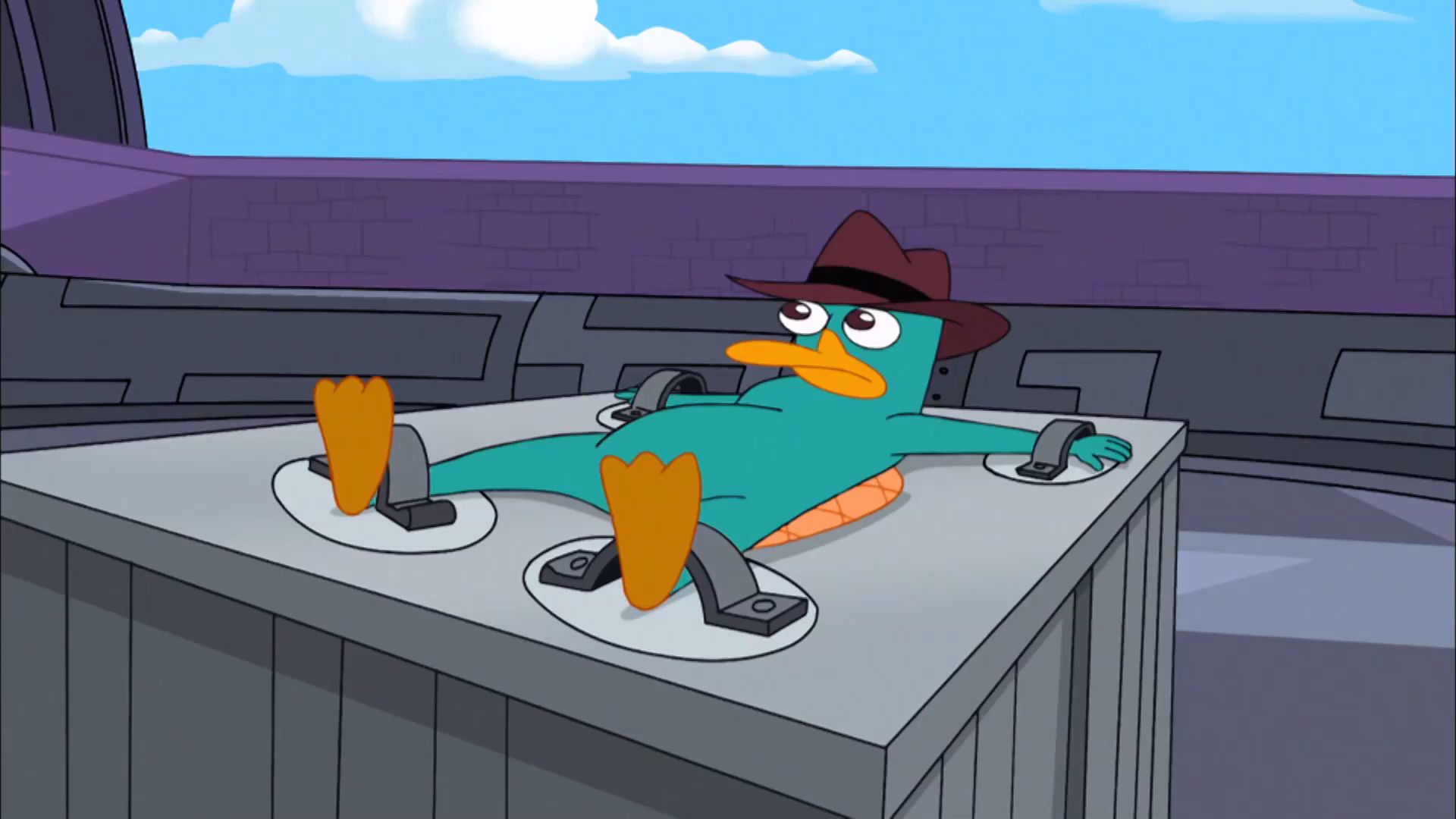 Phineas og Ferb - Dr Doofenshmirtz fanger Agent P