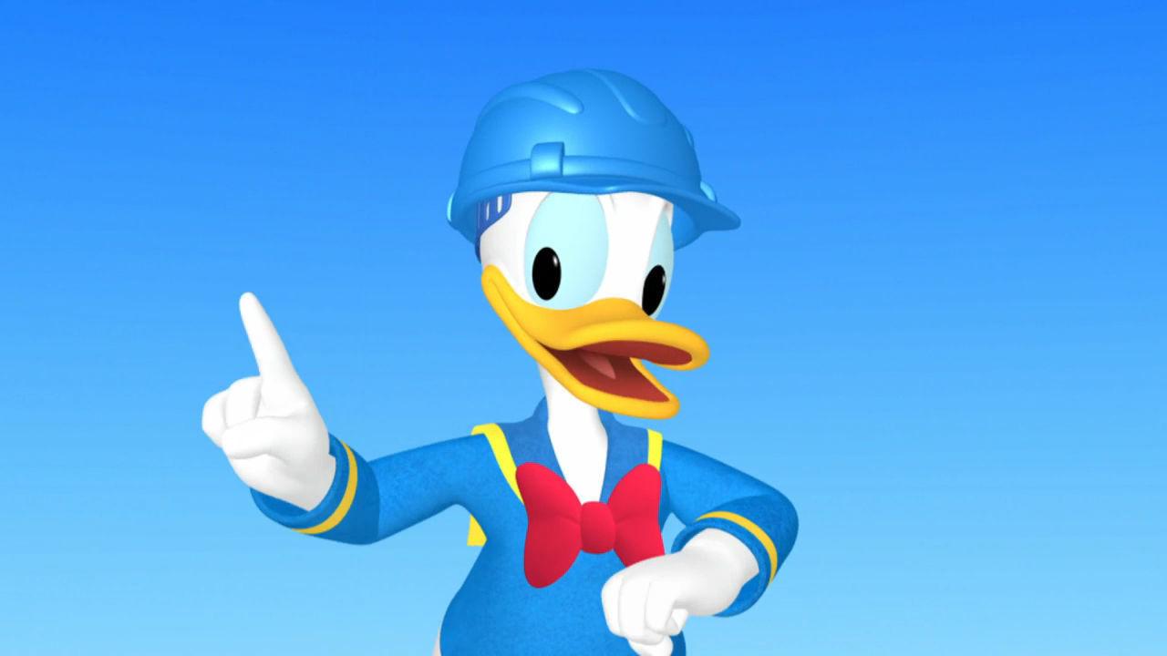 Donald'ın Yepyeni Kulüp Evi
