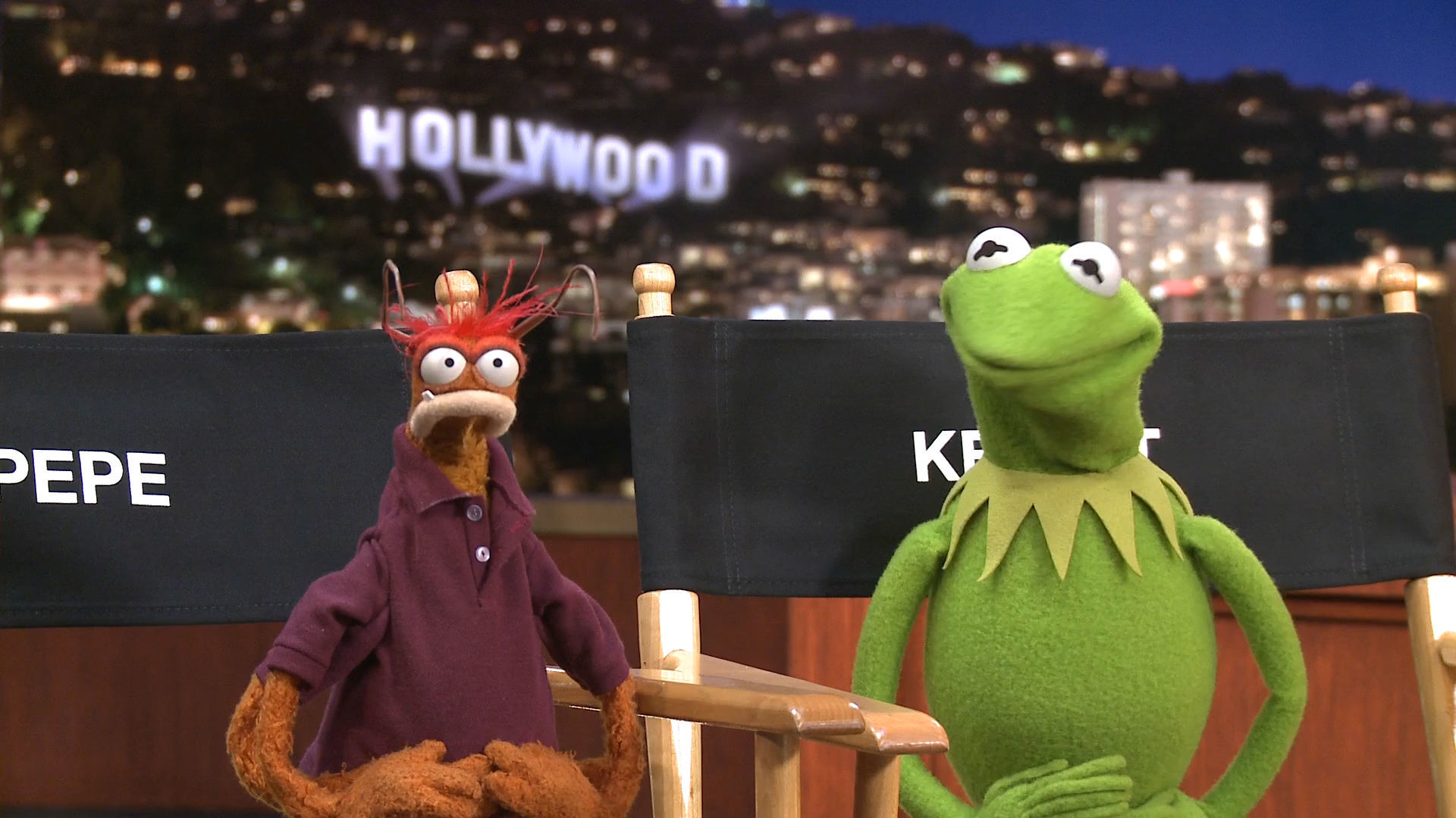 TV Talk with Kermit and Pepe from The Muppets - Disney Insider