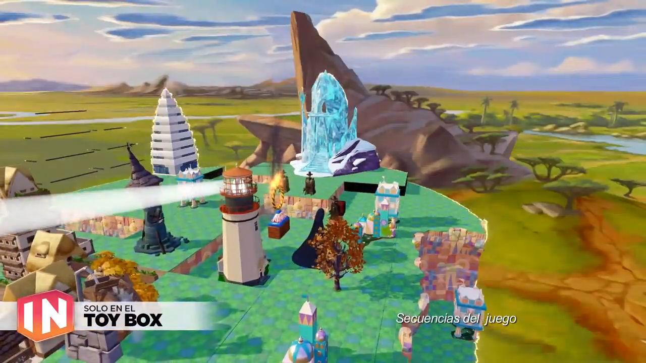 Disney Infinity 3.0: tráiler Nuevo Toy Box actualizado