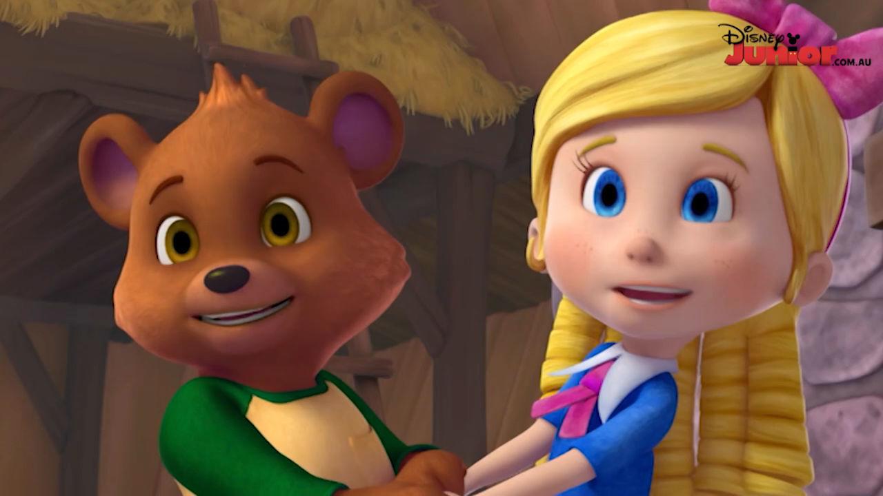 Goldie & Bear  Disney Australia Disney Junior