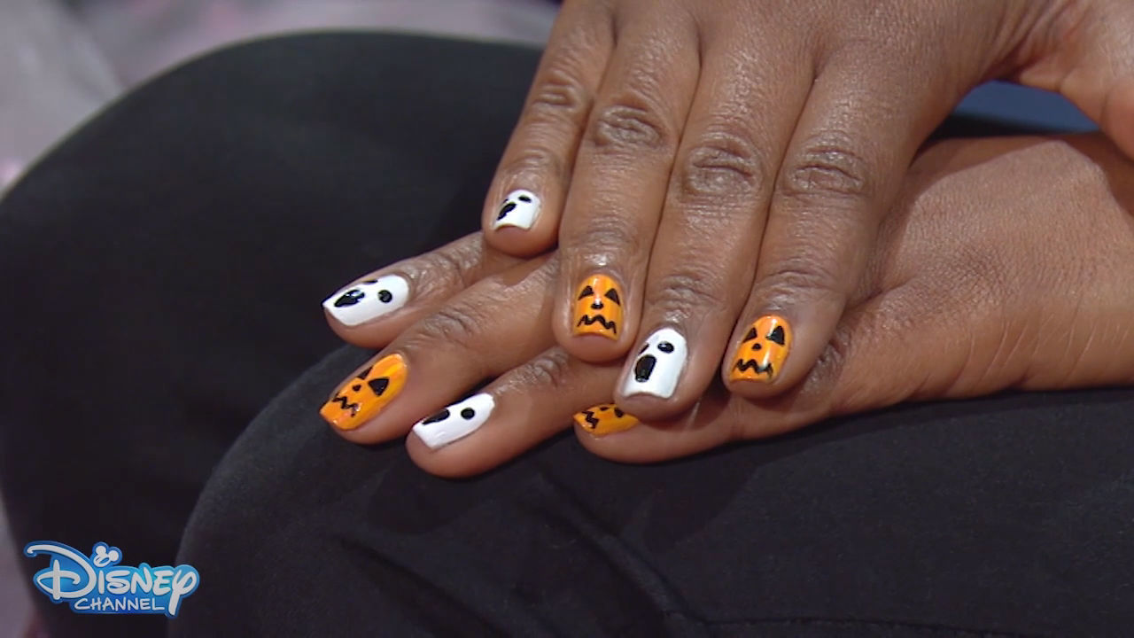 Halloween How To: Spooky Nail Art