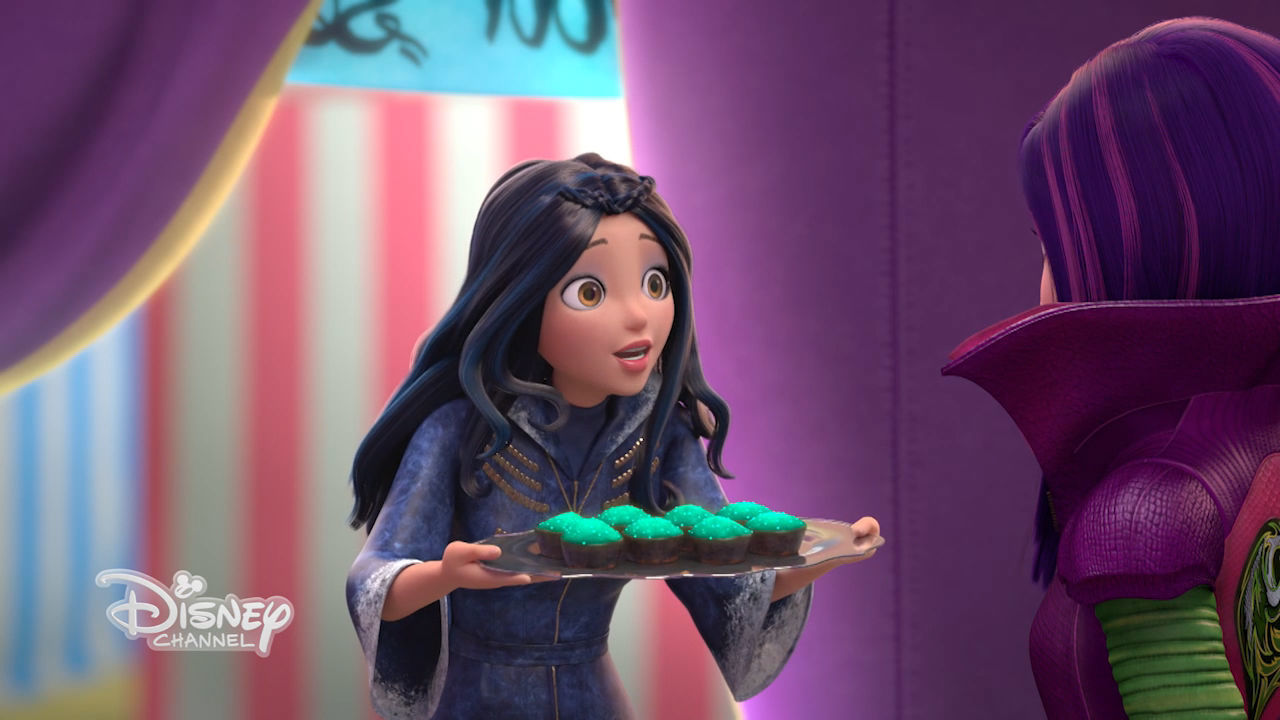 Descendants - Wicked world - I cupcake