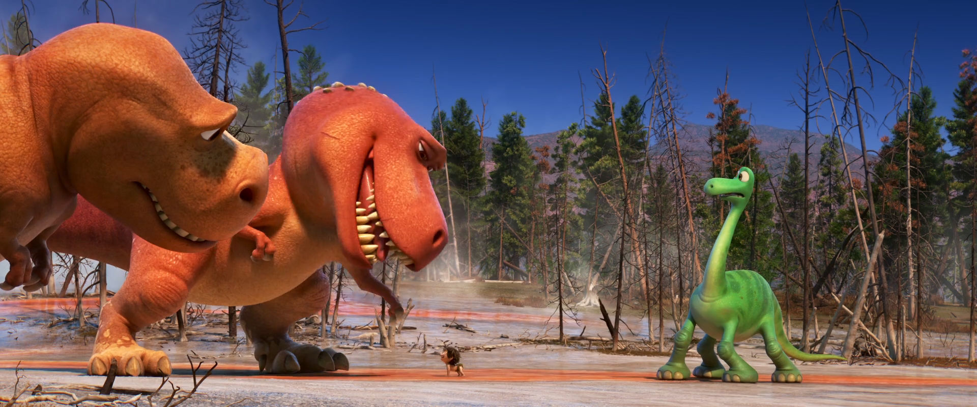 Il viaggio di Arlo - T-Rex