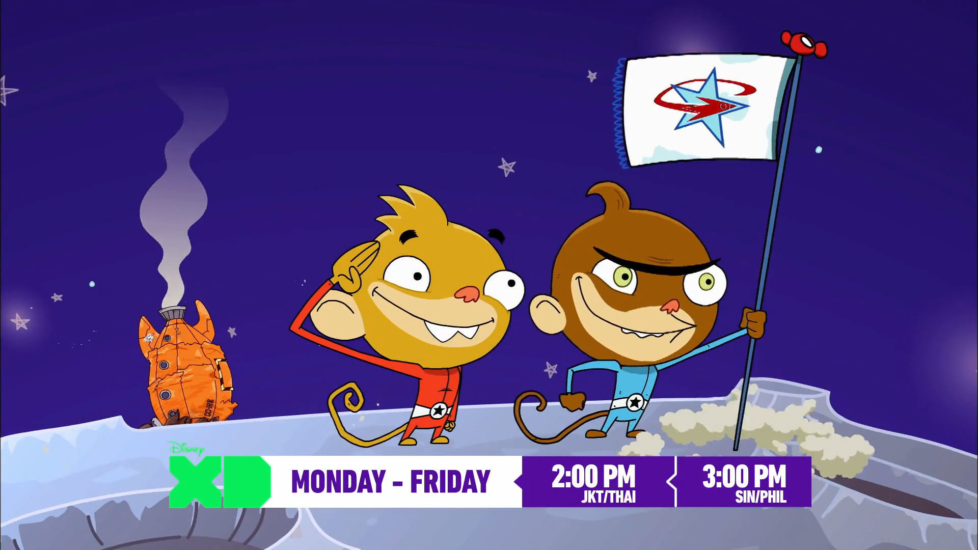 Rocket Monkeys on Disney XD