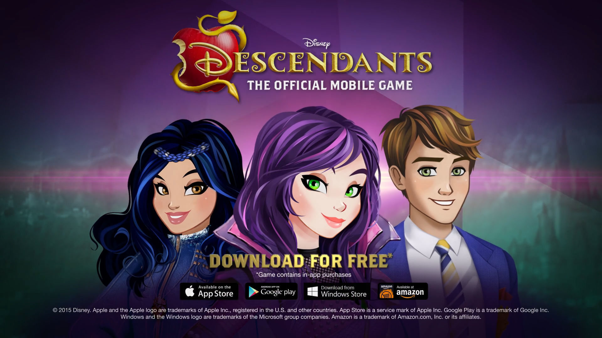 Descendants, the Official Mobile Game - Launch Trailer
