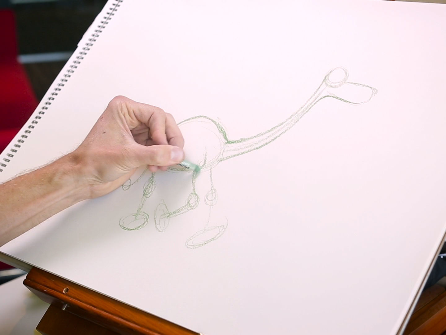 How to Draw Arlo from Good Dinosaur | Disney Insider