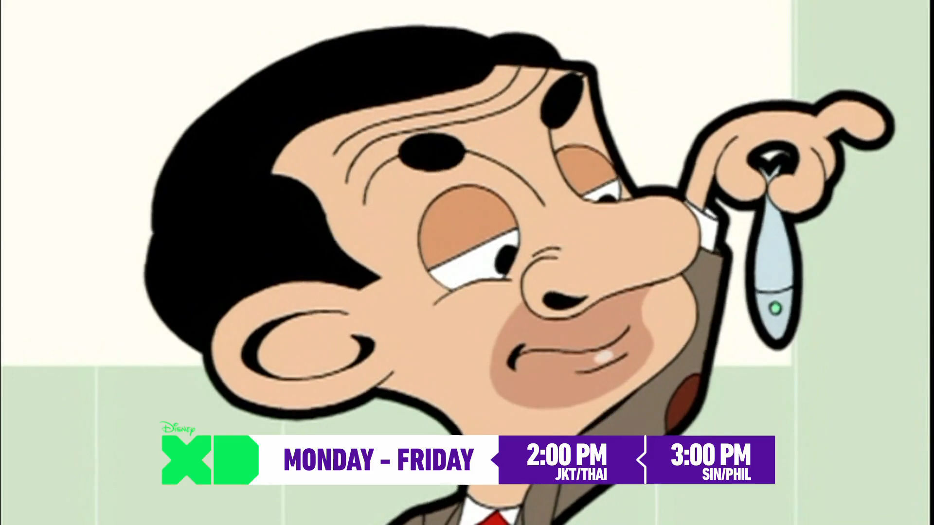 Mr. Bean on Disney XD