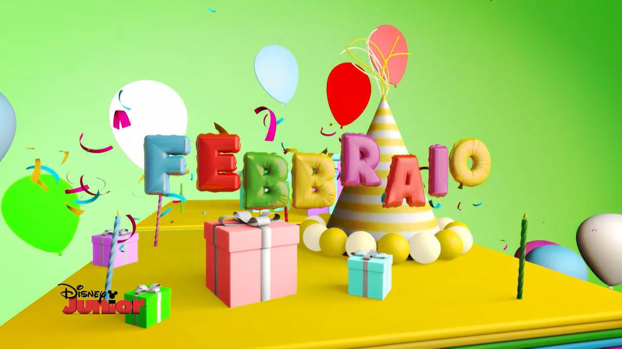 Buon Compleanno da Disney Junior - FEBBRAIO